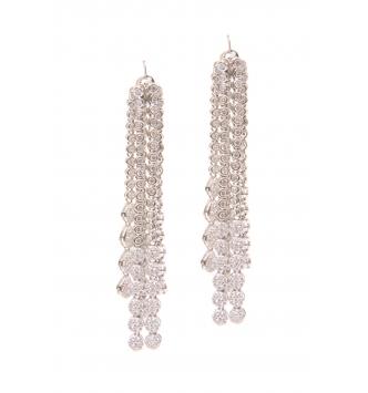 Cascade stones earrings