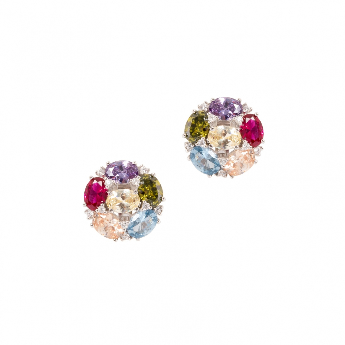 birmingham hanging color stud earrings multi jewelry multicolor sunflower products