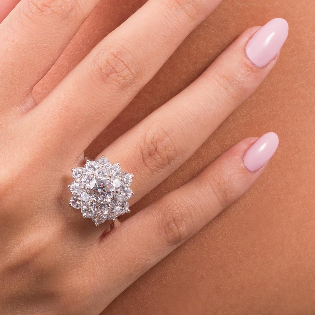 White flower silver ring ultima edizione white flower silver ring mightylinksfo