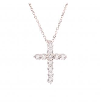 Medium cross pendent