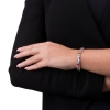 Multicolor oval stones bracelet