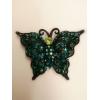 metal butterfly brooch