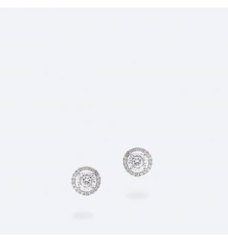 Medio punto luce doppio bianco